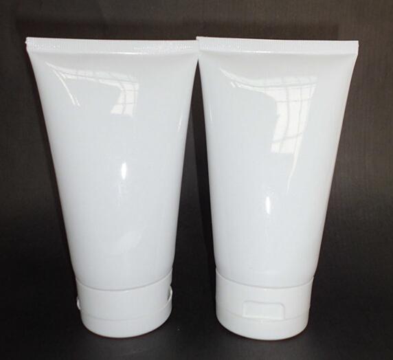 150ml white plastic tube