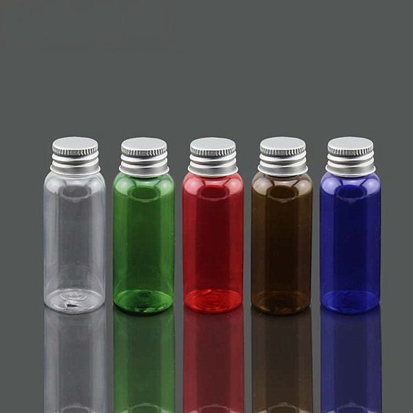 50g bottles with metal caps
