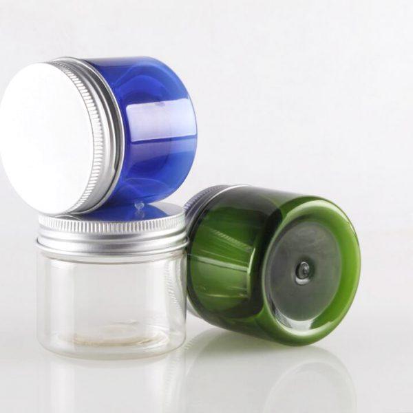 50g cream jar with aluminum cap