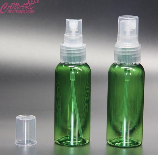 50ml semi green plastic spray bottle