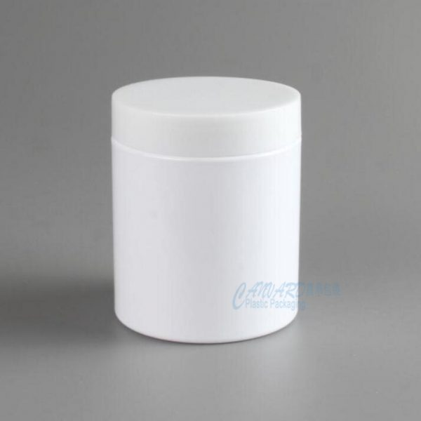 250g wide mouth plastic jar-