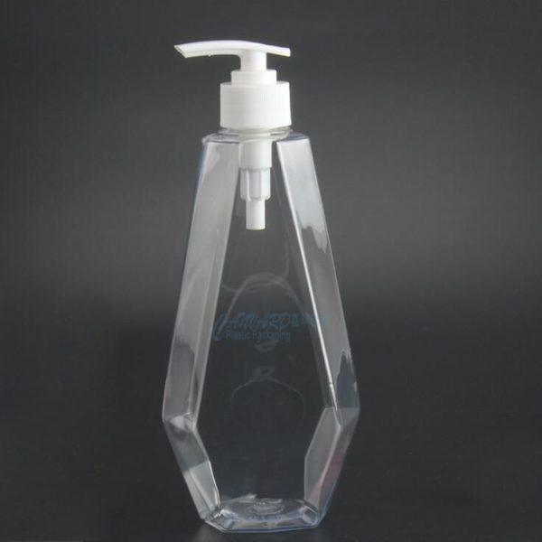 500ml-rhombic plastic bottle
