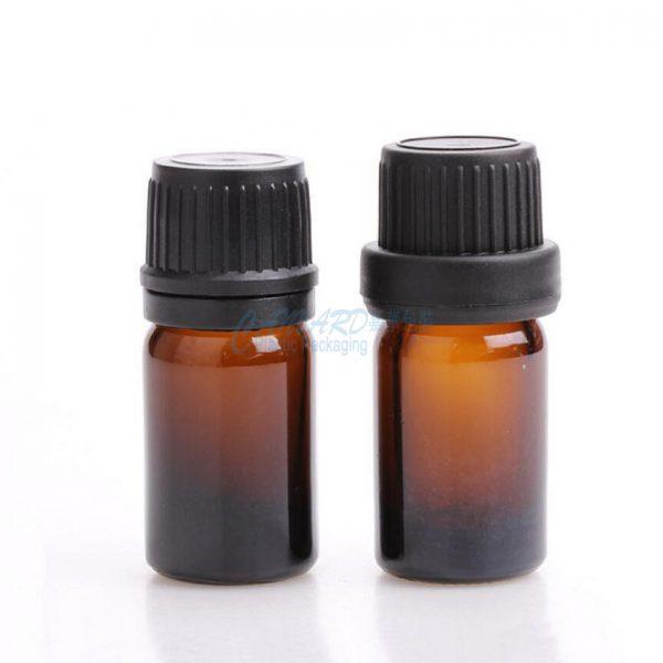 GS-030-5ml brown essential oil bottle-