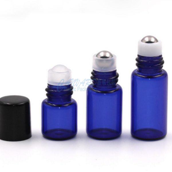 GS-031-1ml-2ml-3ml-roll on ball glass bottle