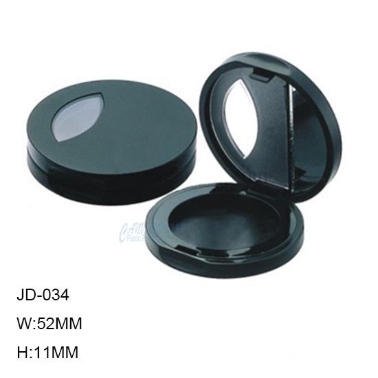 JD-034-ROUND POWDER COMPACT CASE
