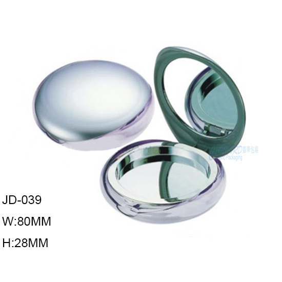 JD-039-ROUND POWDER COMPACT CASE