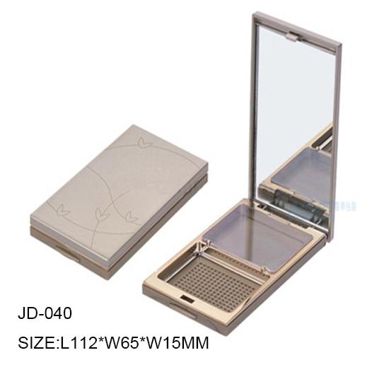 JD-040-ROUND POWDER COMPACT CASE