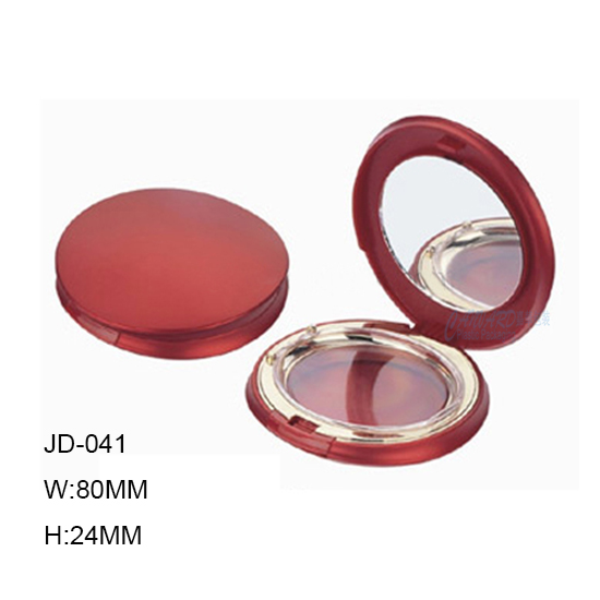JD-041-ROUND POWDER COMPACT CASE