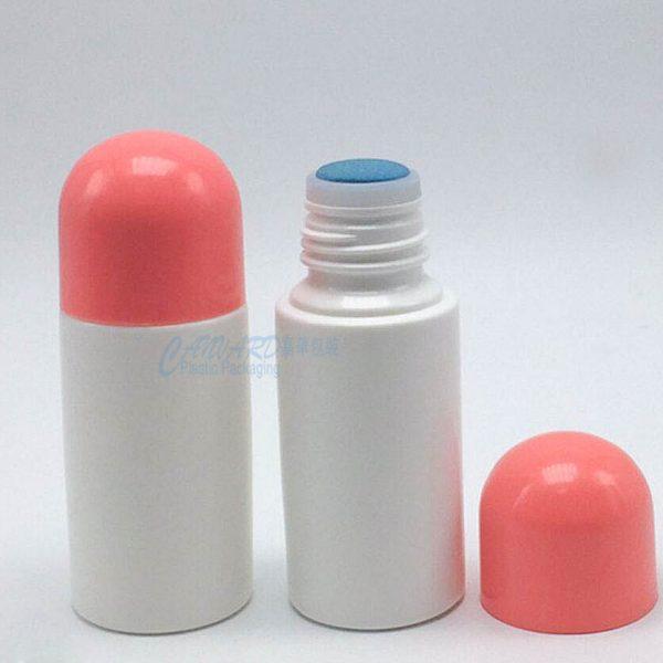 RP-025-plastic roll ball bottle-sponge cap-1