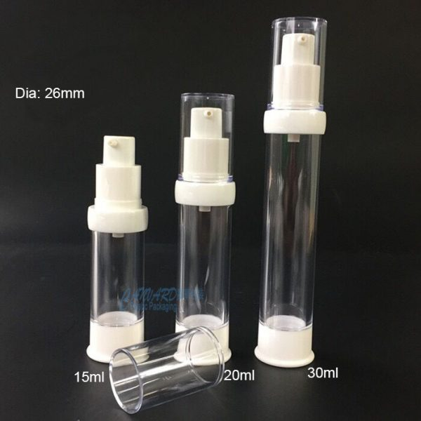 AS-077-15ml-20ml-30ml-dia26mm-airless pump bottle