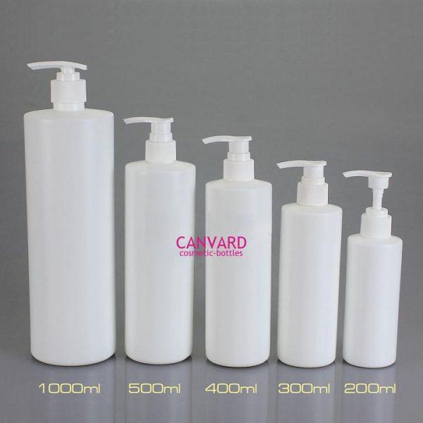 SE-132-200-300-400-500-1000-plastic pump lotion bottle-small