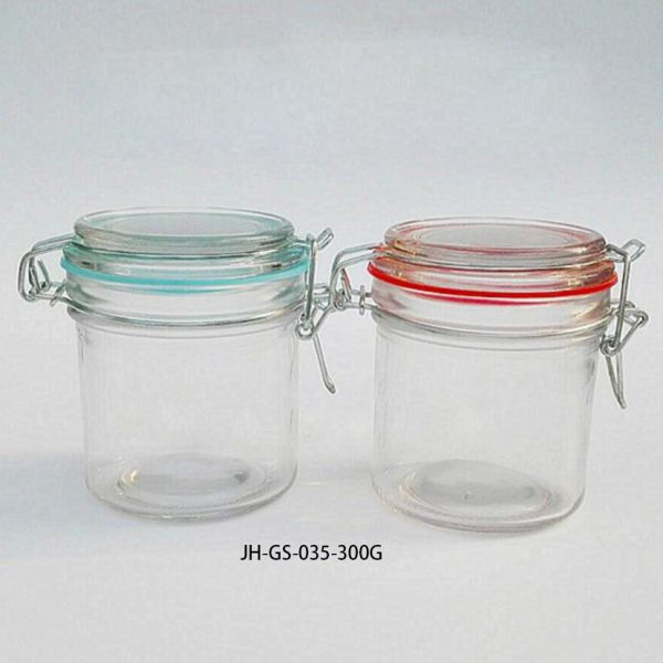 gs-035-300g glass airtight jar