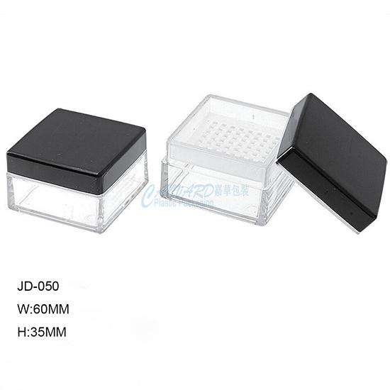 square loose powder case-f