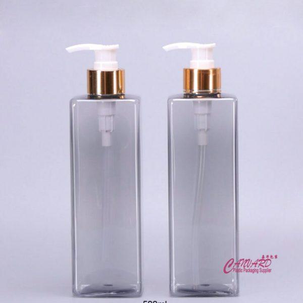 500ml rectangular lotion bottle-1
