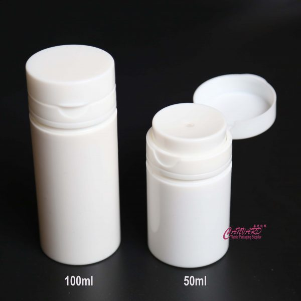 50ml-100ml airless press bottle