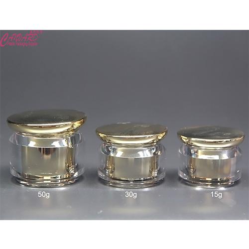 JH-JP-142-15g,30g,50g acrylic jar-f