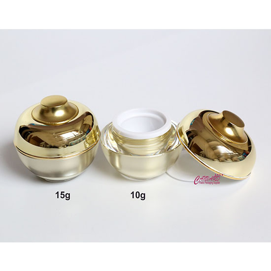 JH-JP-170-15g-10g-acrylic jar-f