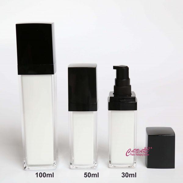 JH-SG-033-30ml-50ml-100ml lotion pump bottles
