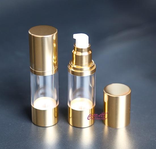 30ml gold metallic airless