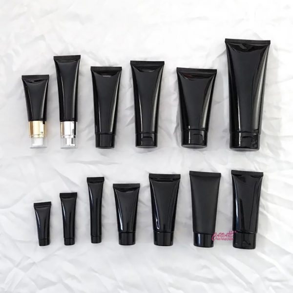 wholesale black cosmetic tube