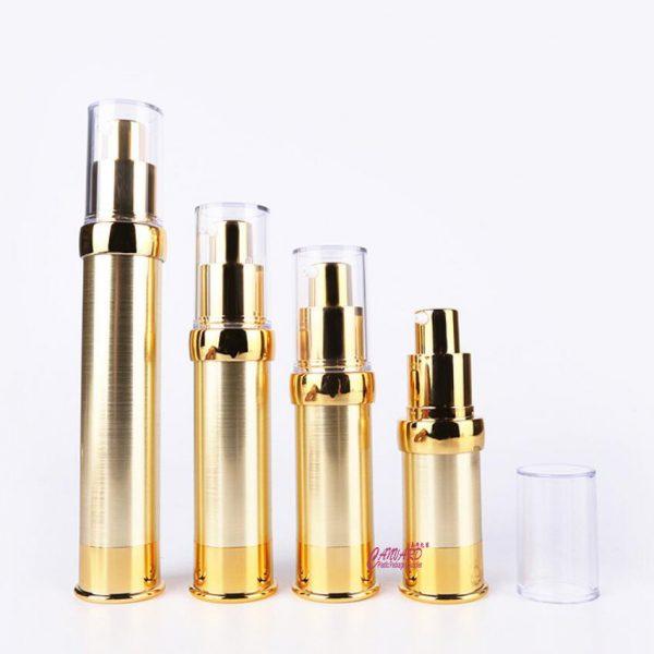 AS-077-gold airless bottle-10ml-15ml-20ml-30ml-all