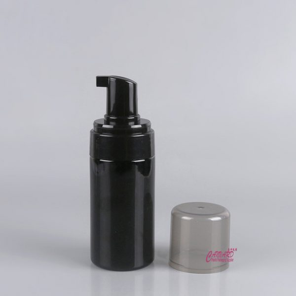 100ml black foam bottle