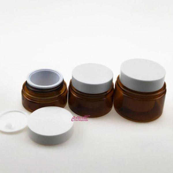 JH-JP-185-20g-30g-50g-petg cream jar-1