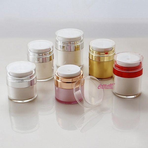 15g-30g-50g airless press jar