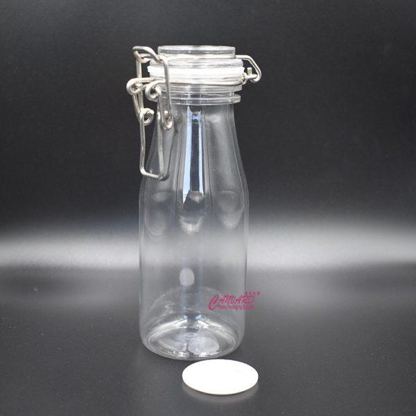 SL-023-200ml clear candy jar
