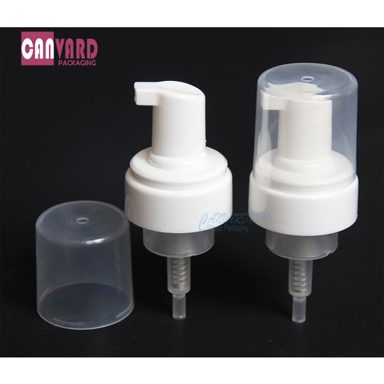 43mm white pump dispenser-f