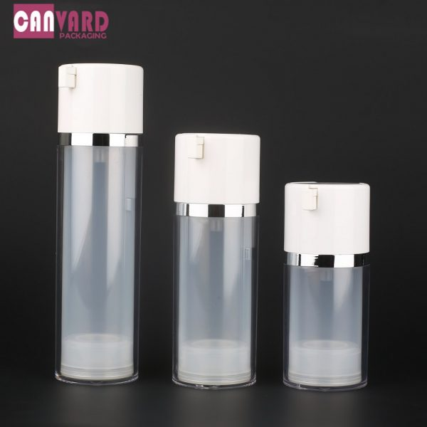 50ml 80 120 double wall airless